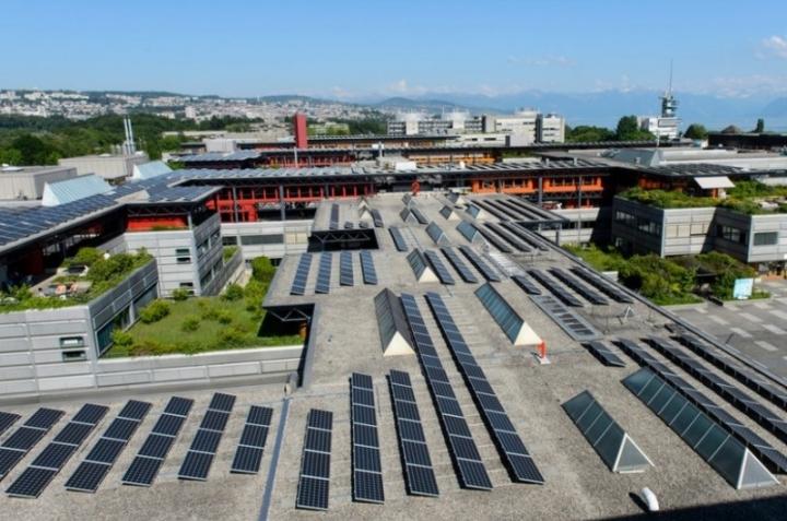 Открыт крупнейший парк солнечной энергии в Швейцарии