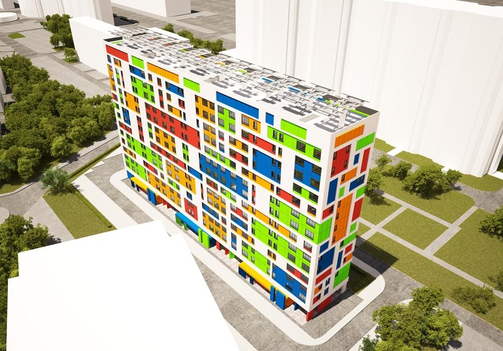 В Москве достроили первый жилой «нанодом»