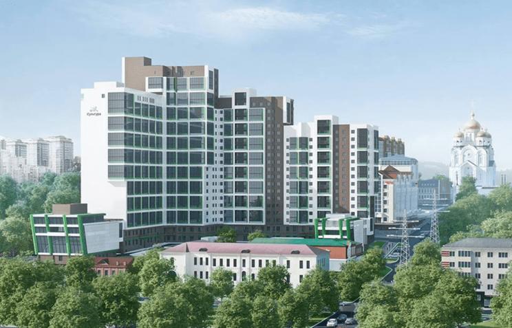 В ДФО построили первый «зеленый» многоэтажный жилой дом